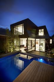 contemporary enclave house design by bkk architects home cool