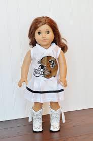 american doll nfl new orleans saints cheerleader