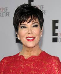 kris jenner haircut kris jenner short straight formal hairstyle with layered bangs