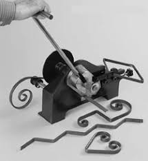 metal bending for iron projects craft ideas