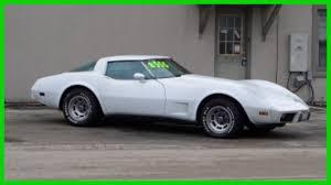 1978 corvette stingray 1978 anniversary car corvette stingray 350 automatic white for