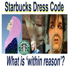starbucks easing dress code wild hairstyles rock at giant coffee