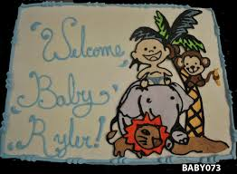 monkey baby shower cake baby shower cakes three brothers bakery houston tx