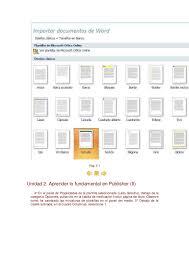 bordes para publisher manual de publisher 2007
