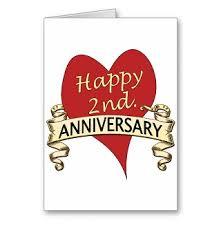2nd wedding anniversary happy 2nd wedding anniversary to my