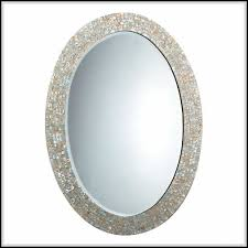Oval Vanity Mirrors For Bathroom Beautiful Oval Bathroom Mirrors To Add Visual Interest Home Design