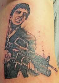 the awesome scarface tattoo with regard to body tattoo tattoo a