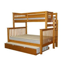 Trundle Bunk  Loft Beds Youll Love Wayfair - Trundle bunk bed with desk