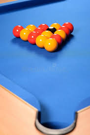 how to set up a pool table balls set up on pool table stock photo image of near 38327022