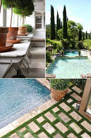 backyard inspiration poolside before inspiration the makerista