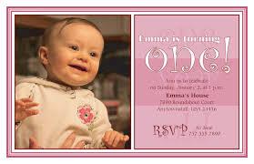 baby first birthday party invitations registaz com