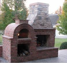 Pizza Oven Fireplace Combo by The Shiley Family Wood Fired Brick Pizza Oven In South Carolina