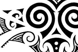 tribal maori skull back designs