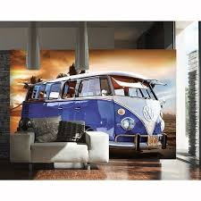 campervan wall mural 2 designs available new modern wall decor any campervan wall mural 2 designs available new modern