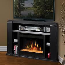 black corner electric fireplace corner electric fireplace decor