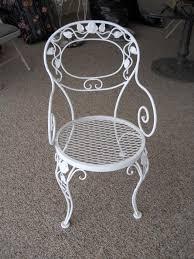 Wrought Iron Patio Furniture Vintage Antique Wrought Iron Patio Furniture U2013 Outdoor Design