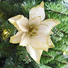 gold flower christmas tree decorations online gold flower