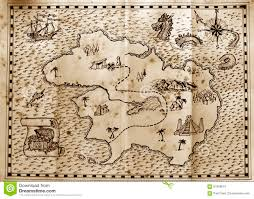 Treasure Maps Pirate Treasure Island Map Stock Photos Images U0026 Pictures 212