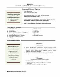 Free Basic Resume Template Simple Resume Exles Resume Template Builder Objective