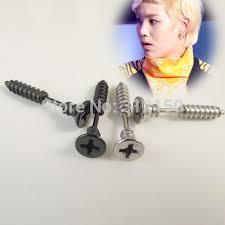 boy earrings sayao 2 stainless steel earring studs cross girl boy