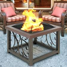 outdoor greatroom fire table outdoor greatroom naples chat height gas fire pit coffee table