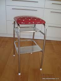restyled vintage retro kitchen step stool
