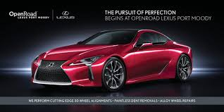 lexus service program promotions openroad lexus port moody