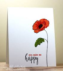 330 best cards poppies images on watercolor cards