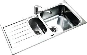 stainless steel sinks with drainboard canada stainless steel kitchen sink inch single bowl gauge stainless steel