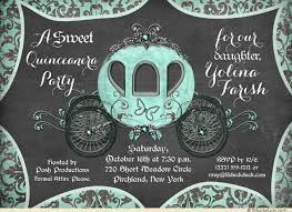 vintage carriage quinceanera invitations 15th birthday