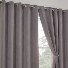 Silver Black Curtains Blackout Curtains Thermal Silver Tony S Textiles Tonys