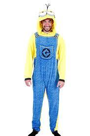 Cheap Halloween Costumes Pajamas Minions Amazon Despicable Minion Union Suit Costume Pajama