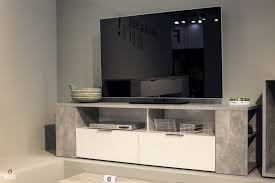 Living Room Tv Unit Furniture Living Rooms Industrial Tv Stand With Concrete Finish From Fwd