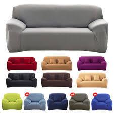 housse de canapé 1 place housses de canapé fauteuil et salon en polyester pour la maison ebay