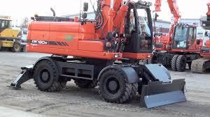 doosan dx190w 2011 wheel excavator www maskinia se youtube
