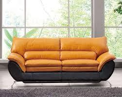 Orange Leather Chair Orange Leather Sofa Bed Tehranmix Decoration