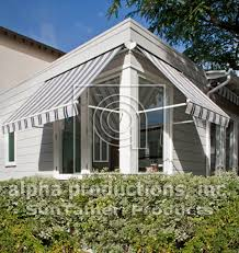 Alpha Awnings Cadette Window Awning Alpha Productions