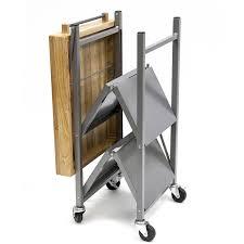 folding kitchen island cart amazing origami folding kitchen