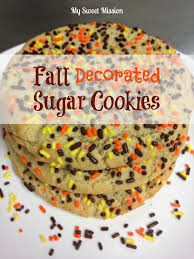 fall decorated sugar cookies my sweet mission