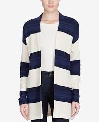 macy s ralph sweaters ralph striped open front cardigan sweaters