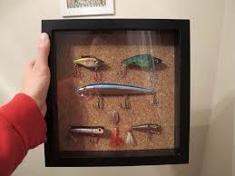 gettin crafty fishing lure shadow box shadow box fishing