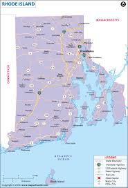 Map Of The Northeastern United States by Rhode Island Map Map Of Rhode Island Ri Map