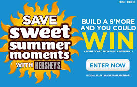 5 dollar gift cards hershey s and dollar general sweepstakes free 5 gift card 2 000