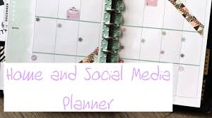 social media planner plan with me nov 5 11 home and social media classic happy