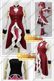 Sakura Halloween Costume Puella Magi Madoka Magica Kyoko Sakura Cosplay Costume Sizes