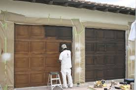 faux wood painted garage doors mi casa su casa pinterest