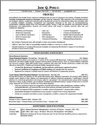 Sample Resume Hr by Hr Generalist Resume Writer Sample The Resume Clinic Sample Resume