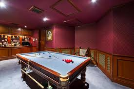 game of homes five properties with room for a snooker table