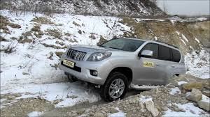 toyota land cruiser offroad training track youtube