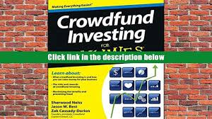 free pdf donwload crowdfund investing for dummies read online
